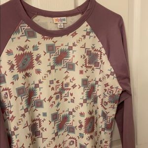 MD LulaRoe Randy Baseball Tee